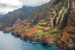 _5D39034 (dendrimermeister) Tags: kauai hawaii napali cliff canyon helicopter chopper aerial color landscape scenery