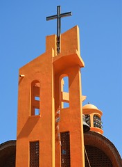 Once Upon a Time (knightbefore_99) Tags: mexico mexican nayarit rincon guayabitos west coast pacific awesome cool tropical orange church cross modern design art best
