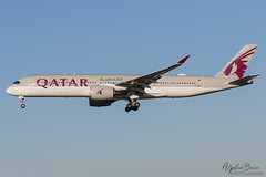 QATAR AIRWAYS A7-ALJ A350-941 EGKK 02/12/19 (_alphabravo) Tags: avgeek aviation aviationphotography airplane airport avporn airliner airline canon eos600d eos england egkk gatwick gatwickairport planespotter planespotting photography plane planeporn sky window jet cloud aircraft cockpit lgw boeing