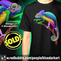 🔥25% off all #apparel ! Code OUTFITS25 🔥👉 www.redbubble.com/people/bluedarkart 🌟  #Designs © #BluedarkArt 🌟  🌟 SOLD! Again! Thank You! 🌟 (BluedarkArt) Tags: onlineshopping apparel tshirts reptile coolgift colors sales christmasshopping blackfridaysale tshirtdiscount designs blackfriday successfuldesign xmasshopping chameleon fantasy copyrightbluedarkart giftideas cooltshirts designtrends uniquegifts bluedarkart rainbow forsale classic originalgift animal shopsales giftoriginal