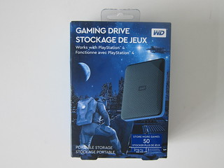Western Digital 2TB Gaming Drive For PS4