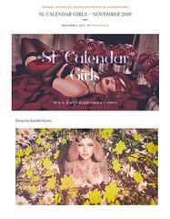 SL Calendar Girls November 2019 (scarlettrose.karsin) Tags: