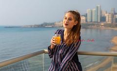 Pyjamas (Paul Saad) Tags: paulstudio paulsaad woman pretty beautiful nikon d850 lebanon portrait girl people model women models beach sunset dusk dawn surise sea sun clouds pyjamas city beirut