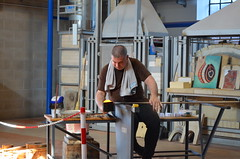 Professional glassblower very hard at work at Giudecca Island - part 2 (jimbob_malone) Tags: 2019 venice italy