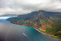 _5D39097 (dendrimermeister) Tags: kauai hawaii napali cliff canyon helicopter chopper aerial color landscape scenery