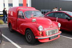 Morris Minor REB610J (Andrew 2.8i) Tags: haynes museum sparkford classic car cars classics breakfast meet show british van panel commercial haulage delivery transport road 6cwt cwt 6 minor morris reb610j