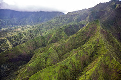 _5D39287 (dendrimermeister) Tags: kauai hawaii napali cliff canyon helicopter chopper aerial color landscape scenery