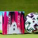 Uniforia ball and box, the official Euro 2020 ball