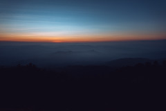 ArtRachen (rachenbuosa) Tags: outdoor sunrise travel evening nature morning view beautiful landscape dawn silhouette sunset island clouds serenity fog colorful snow background light sunlight environment cloudy orange