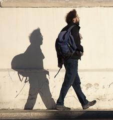 Photogenic Wall-1 (zeevveez) Tags: זאבברקן zeevveez zeevbarkan canon sculpture people shadow background