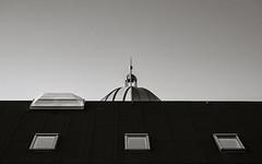 Sunlit domes [Explored] (Poul-Werner) Tags: denmark danmark blackwhitephotos holstebro beredskabsgården urban bw sunlight sol architecture geometry minimalism contemplative everydayart sollys centraldenmarkregion fireandrescuetrainingcentre