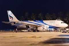 Bangkok Air Airbus A319-132; HS-PPR@USM;05.12.2019 (Aero Icarus) Tags: kohsamuiairport usm thailand plane avion aircraft flugzeug