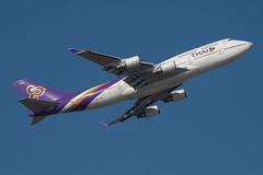 Thai Airways Boeing 747-400; HS-TGA@BKK;05.12.2019 (Aero Icarus) Tags: bangkoksuvarnabhumiairport bkk bangkok thailand plane avion aircraft flugzeug