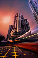 City Bus - DSC8362.flare-65 wm 1080 (cleansurf2) Tags: bus macau city cityscape cinamatic longexposure sony screensaver surreal a7ii arty architecture street structure streak person red yellow black orange sunset ilce7m2 urban mygearandme tan tones travel emount wallpaper explore quality art scene artistic dreamscape flare glow light leadinglines lines mood mirrorless night background backdrop building bright vanishingpoint vivid color colour cool exposure