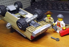 New Suspension (captain_j03) Tags: chevrolet k5 blazer jeep toy spielzeug 365toyproject lego minifigure minifig car auto 6wide strangerthings 75810 mikethemechanic johnnythunder o construct