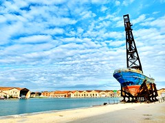 Arsenale di Venezia (riccardo218) Tags: venice boat port iphone