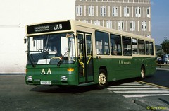 M100AAB AA Buses Dodds of Troon (theroumynante) Tags: m100aab aa buses scania alexander ayr ayrshire scotland bus singledeck stepentrance road transport