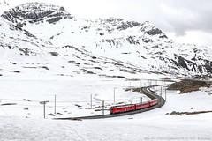 ABe 4/4 51 / 29.05.19 (Schumny) Tags: rhb rhätische bahn bernina pass berninapass lagalb ospizio abe 44 51 iii re regio regional regionalexpress express schweiz schweitz switzerland swiss graubünden berge berg mountains st moritz alpen alps alpenbahn alpinist alp bahnhof eisenbahn schmalspurbahn schmalspur railway rail railways railfanning rot farbe red color colors photography photo foto fotografie canon eos mark 2 ii 7d view personenzug perspective