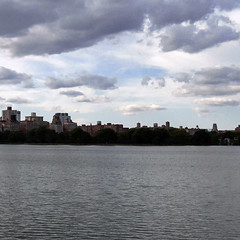 the san remo + the reservoir (maximorgana) Tags: thesanremo thereservoir centralpark manhattan ny nyc
