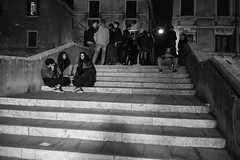 Venice nightlife, 8.47pm-9.50pm 18th October 2019 (fabiolug) Tags: nightlife night venice venezia italy italia darkness light shadow shadows people street streetphotography canal canals bridge steps leicammonochrom mmonochrom monochrom leicamonochrom leica leicam rangefinder blackandwhite blackwhite bw monochrome biancoenero leicaelmarit28mmf28asph elmarit28mmf28asph elmarit28mm leicaelmarit28mm 28mm elmarit leicaelmarit wide wideangle cannareggio