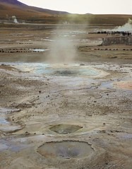 Taito Geyser Basin, high in the Chilean Andes (Ruby 2417) Tags: geyser basin scenery wildlife nature fumarole fountain geology volcanic volcano vulcanism chile atacama andes mountain mountains antofagasta steam water sulfur hot spring morning reflection