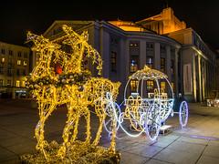 Katowice (dadudawien) Tags: yim1 yi1240mm katowice night nacht weihnachtsmarkt cit lowlight weihnachtsbeleuchtung