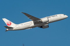 JAL Japan Airlines Boeing 787-800 Dreamliner; JA845J@BKK;05.12.2019 (Aero Icarus) Tags: bangkoksuvarnabhumiairport bkk bangkok thailand plane avion aircraft flugzeug