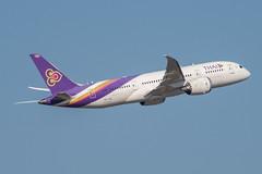 Thai Airways Boeing 787-800 Dreamliner; HS-TQA@BKK;05.12.2019 (Aero Icarus) Tags: bangkoksuvarnabhumiairport bkk bangkok thailand plane avion aircraft flugzeug