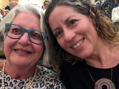 Ritsa and Jacqui (RobW_) Tags: ritsa jacqui hamilton west end victoria palace theatre london england tuesday 29oct2019 october 2019