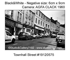 Townhall Street - Enniskillen, old fashion style black and white photo (6cm x 9cm negative)This black and white photo is NOT crisp sharp due to camera characteristic. Camera: AGFA Clack 1960, cloudy, Ilford FP4 Plus 125 - Developer: Adox Rodinal 9min. Fix (jbeugephoto) Tags: enniskillen shop ireland fermanagh northernireland white townhall street car photography beautiful film black scenic outdoor image photographic scene old county camera photo traditionalphotography analog perspective analogue medium manual nostalgic format building analogphotography travel lens agfa clack equipment oldfashion photographing retro roll focus oldfasioned photocamera ilford fp4 adox rodinal adofix plus fixer developer