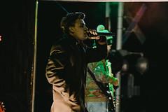 Scott Helman (TheSamuelYears) Tags: scotthelman pop folk poprock singersongwriter vocalist singer vocals green cpholidaytrain winnipeg music concert live musicians nikond3400 stage nikon wpg train outdoors outside cprail cptrain musician tour canada manitoba livemusic liveconcert venue street outdoor stagephotography stageact performance onstage canadian canadiantour canadianmusic canadianband christmas xmas holidays cold darkbackground dark