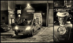 Another night shift.. (Mike-Lee) Tags: yorkie cappuccino dec2019 sheffield longleystation collage picasa yorkiebar fiat fiatambulance yas yorkshireambulanceservice nightshift dark nighttime