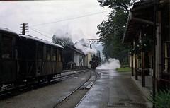 Making up a Garsten train (gearlok) Tags: austria obb steyrtalbahn