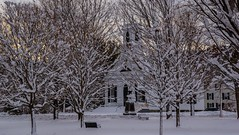 Earlier this week in Newfane. (scenicvermontphotography) Tags: church historic historicvermont newengland newfanevermont scenicvermont scenicvermontphotography snow vermont vermonthistory vermontlandscape vermontlandscapes winter winterinvermont