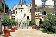 Dans le vieux Tours, Tours, Indre-et-Loire, France (claude lina) Tags: claudelina france indreetloire tours architecture immeuble maison house
