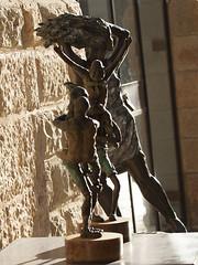 Sculpture as Background at Mamilla Mall (zeevveez) Tags: זאבברקן zeevveez zeevbarkan canon sculpture mamilla background
