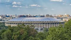 """lo stadio della """"Dynamo Mosca"""" (Renato Pizzutti) Tags: russia mosca stadio struttura football dynamomosca alberi nikond750 renatopizzutti"""