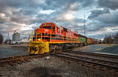 IORY 5016 - Quincy, OH (Wheelnrail) Tags: csx io iory indiana ohio railway train trains emd sd50s locomotive railroad washington court house wchb local shortline gw indianapolis line rail road rails