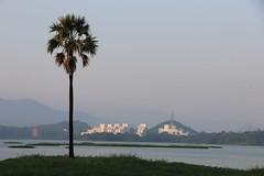 Mumbai (Opa Jaap) Tags: india mumbai lake evening nature park