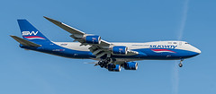 VQ-BBM   Boeing 747-8F - Silk Way West Airlines (Peter Beljaards) Tags: landing airplane aircraft amsterdam schiphol nikond5500 ams eham aviationphotography freighter cargo cargoplane vqbbm boeing7478f silkwaywestairlines 747 boeing747 azerbaijan