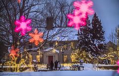 MCE_5248farmhousebokeh1jsm (JayEssEmm) Tags: winter holiday lights christmas tower hill botanic garden boylston massachusetts ma