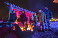 MCE_5295firepit1jsm (JayEssEmm) Tags: winter holiday lights christmas tower hill botanic garden boylston massachusetts ma