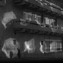 The road to revolution (RoryO'Bryen) Tags: bogotá paro theroadtorevolution shadows contradiction roryobryen copyrightroryobryen colombia colombie kodaktrix rolleiflex28d analog analoguephotography