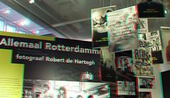 Allemaal Rotterdammers Museum Rotterdam 3D (wim hoppenbrouwers) Tags: museum rotterdam 3d anaglyph stereo redcyan robertdehartogh foto