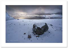 Chaotic weather...cool (Horia Bogdan) Tags: weather arctic mountains fjords norway winter snow ice storm horiabogdan