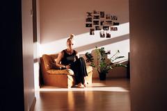 Anu 2 (Sverre Kvamme) Tags: estonia portrait tallinn apartment evening sun