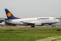 D-ABJE (PlanePixNase) Tags: eddl dus dusseldorf düsseldorf airport aircraft planespotting lohhausen lufthansa 737 737500 b735 boeing 735