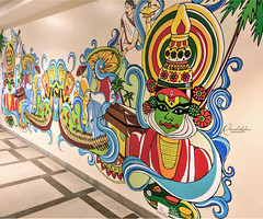 'Painting is silent poetry,and poetry is painting that speaks.' (Ramalakshmi Rajan) Tags: mobileclick oneplus3 painting wallart art artwork quotes
