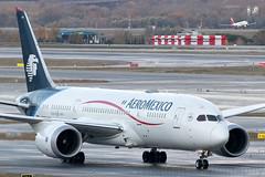 N966AM Aeromexico B787-8 Dreamliner Madrid Barajas (Vanquish-Photography) Tags: vanquish photography vanquishphotography ryan taylor ryantaylor aviation railway canon eos 7d 6d 80d aeroplane train spotting lemd mad madridbarajas madridbarajasairport madridairport n966am aeromexico b7878 dreamliner madrid barajas