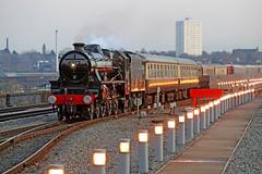 45305 LMS Stanier Class 5 (Roger Wasley) Tags: 45305 lms stanier class5 460 polarexpress steam train engine locomotive birmingham moorstreet station heritage preservation 5305 br british railways